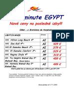 LM Egypt posledné volne miesta let 26.5-.5.6 platné od 20.5.