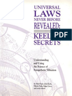 Universal Laws Never Before Revealed Keelys Secrets to Understanding the Science of Sympathetic Vibration