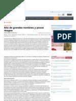 Www.heraldo.es-noticias-cultura-Ano Grandes Nombres Pocos Riesgos