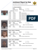 Peoria County Jail booking sheet 6/23/2016
