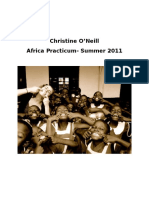 christine oneill - practicum portfolio