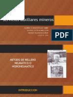 Exposicion de Metodo de Relleno Neumatico
