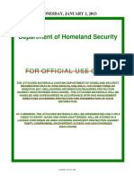 DHS Secretary Napolitano and Johnson's Calendar-Records, 2013-2015 (Obtained by IRLI)