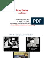 Drug Design Lecture1
