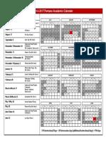16-17 Fortune School Academic Calendar Board Approved