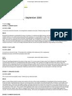 Criminal Law Digests – September 2000