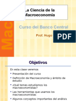 La Ciencia de La Macroeconomia
