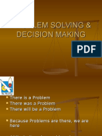 Problem Solving & Decision Making at NTPC