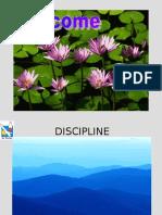 Discipline - A Broad Perspective