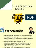 Principles of Natural Justice