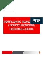 Norma Peruana Identificacion de Insumos Qumicos Fiscalizados