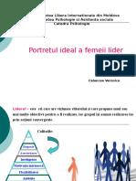 Portretul Ideal Al Femeiei Lider