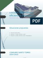 Estudio Alternativas Eficiencia Energética