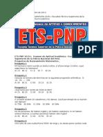 Examen Ets Pnp-2014