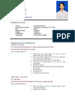 CV Syamsul Maarif
