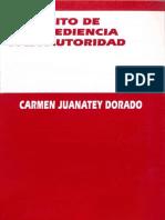 El delito de desobediencia a la autoridad - Juanatey.pdf