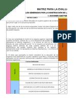1. Matriz de Leopold Proyecto