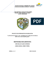 Proyecto de Intervencion Educativa Jobana
