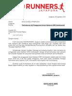 Contoh Surat Ijin Penggunaan Fasilitas Umum
