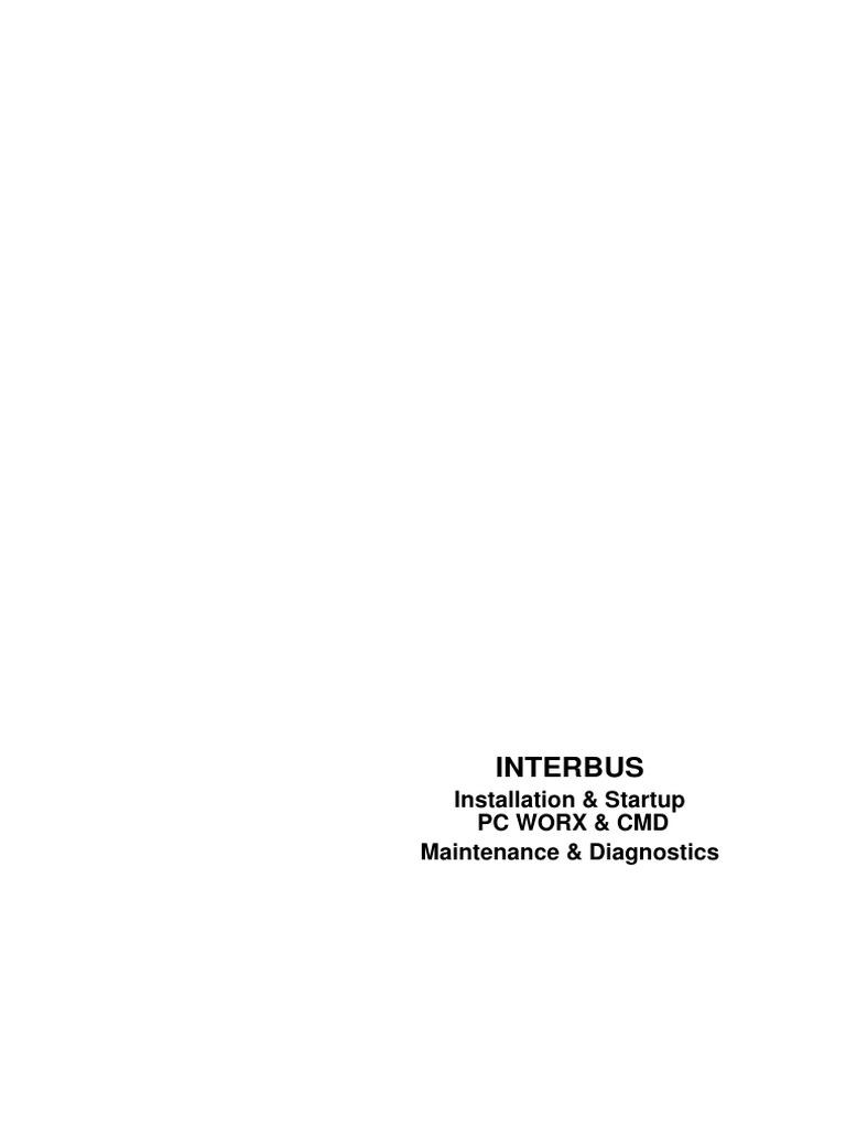 INTERBUS Installation & Diagnostics Phoenix Contact