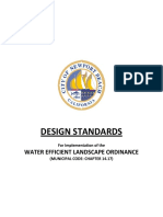 Landscape Irrigation DESIGN STANDARDS