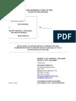 OCPA Impact Application to Assume Original Jurisdiction
