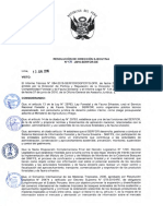 RESOLUCIÓN de DIRECCIÓN EJECUTIVA Nº 134-2016-SERFOR-De