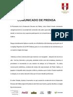 Comunicado Fpf
