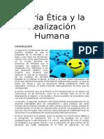 Teoría Ética y La Realización Humana