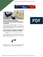 Control Remoto Por RF (Radio-Frecuencia) Usando Arduino_Genuino y Un Joystick _ Web-Robótica