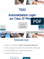 Présentation telisca Single Sign-On Extension Mobility