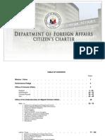 DFA Citizen's Charter
