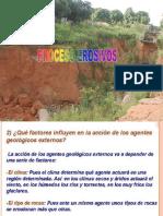 Pocesos Erosivos - Geología