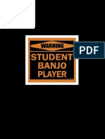 Student Banjo Player