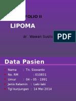 PORTOFOLIO LIPOMA.pptx