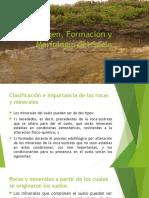 Origen Formación y Morfología Del Suelo