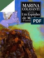 Um Espinho de Marfim e Outras H - Marina Colasanti