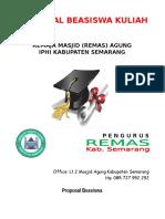 Proposal Beasiswa Kuliah