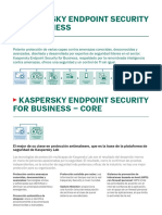 Kaspersky Endpoint Security for Business 4 Tiers Datasheet ES XL