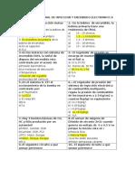 Examen Semestral de Inyeccion y Encendido Electronico A