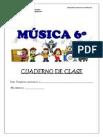 Cuaderno 6 º Musica