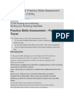 CCNA 2 RSE Practice Skills Assessment