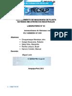 Laboratorio 03 programacion con plc