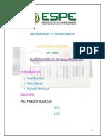 Electronica Galvanometro