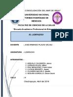Monografia El Liderazgo