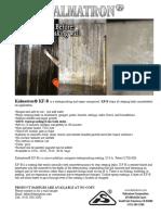 100% Waterproof Coating Kalmatron KF-B