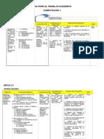 Plan de Estudios Computacion 1 y 2