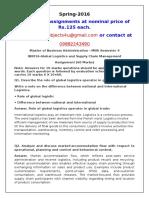 IB0016(IB0019)-Global Logistics and Supply Chain Management