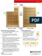 Louvered Shutters 44342measuringguide