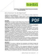 Posmenopausia Hiperpolimenorrea Etiologia Polipos Atrofia Endometrial